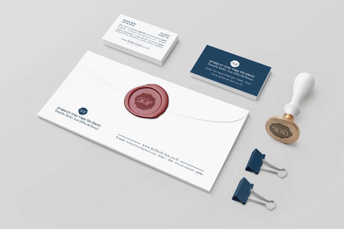 עיצוב לוגו לעורכת דין ונוטריון עורכת דין דינאלה הלר